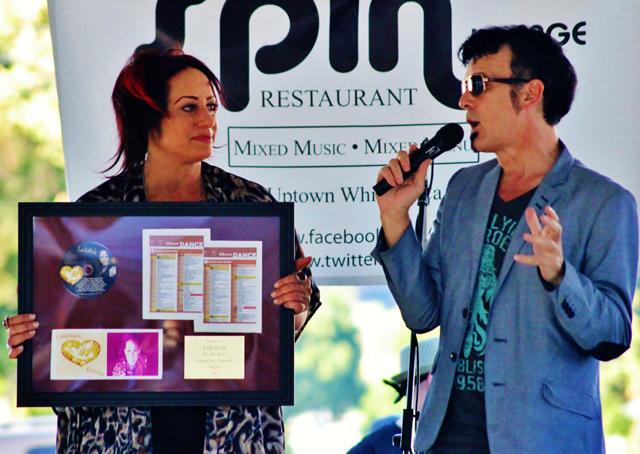 Lakotah receives Award Plaque